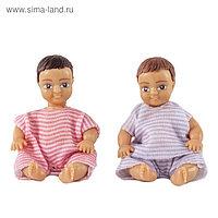 Игровой набор кукол «Два пупса»