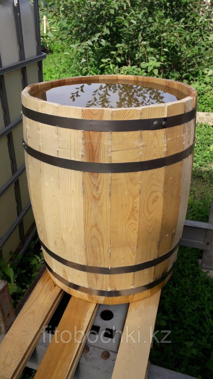 Деревянная бочка для кумыса и воды, 100 литров, новая, подготовленная.