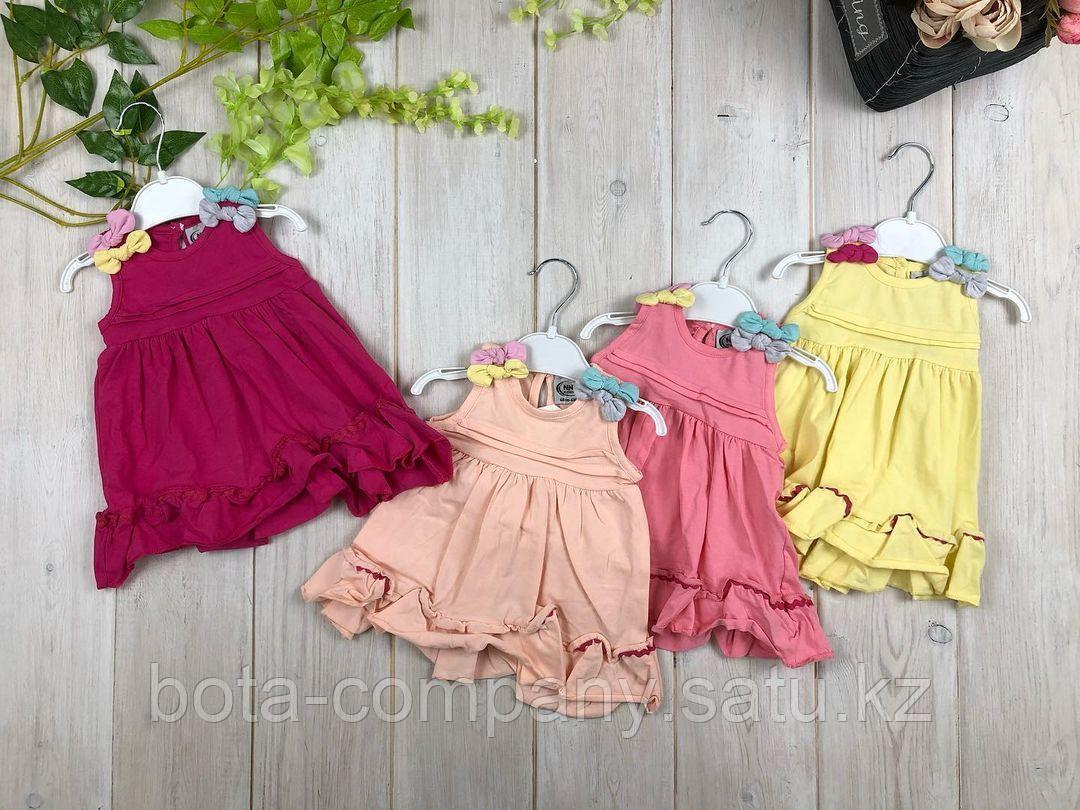 Платья для девочек с цветочками