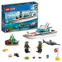 Lego Конструктор City Яхта для дайвинга