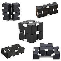 Игрушка антистресс Infinity Cube Инфинити Куб черная