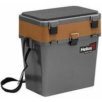 Ящик рыболовный зимний серый/золото Helios (HS-IB-19-GGo) tr-275807