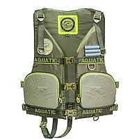 Жилет страховочный Aquatic ЖС-03Х, хаки ЖС-03Х 46-48