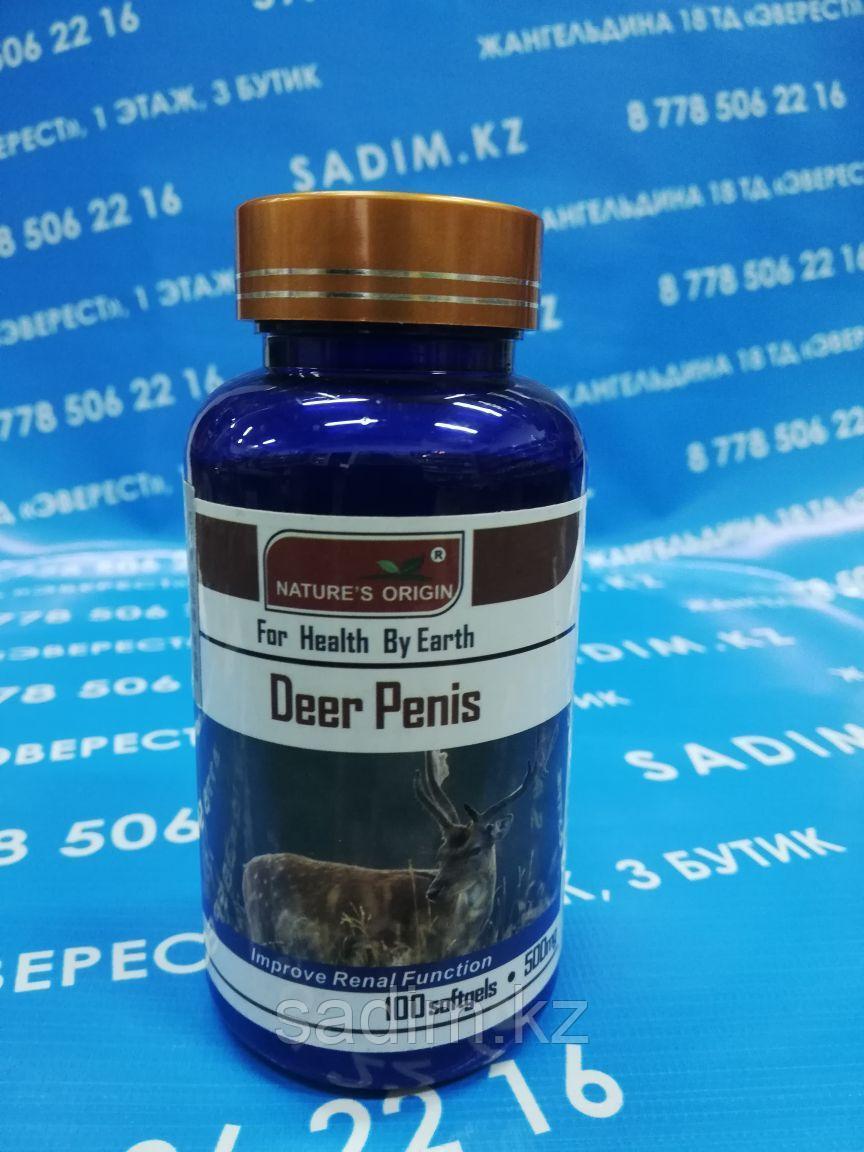 Капсулы - Deer Penis ( Вытяжка Оленя для мужчин )