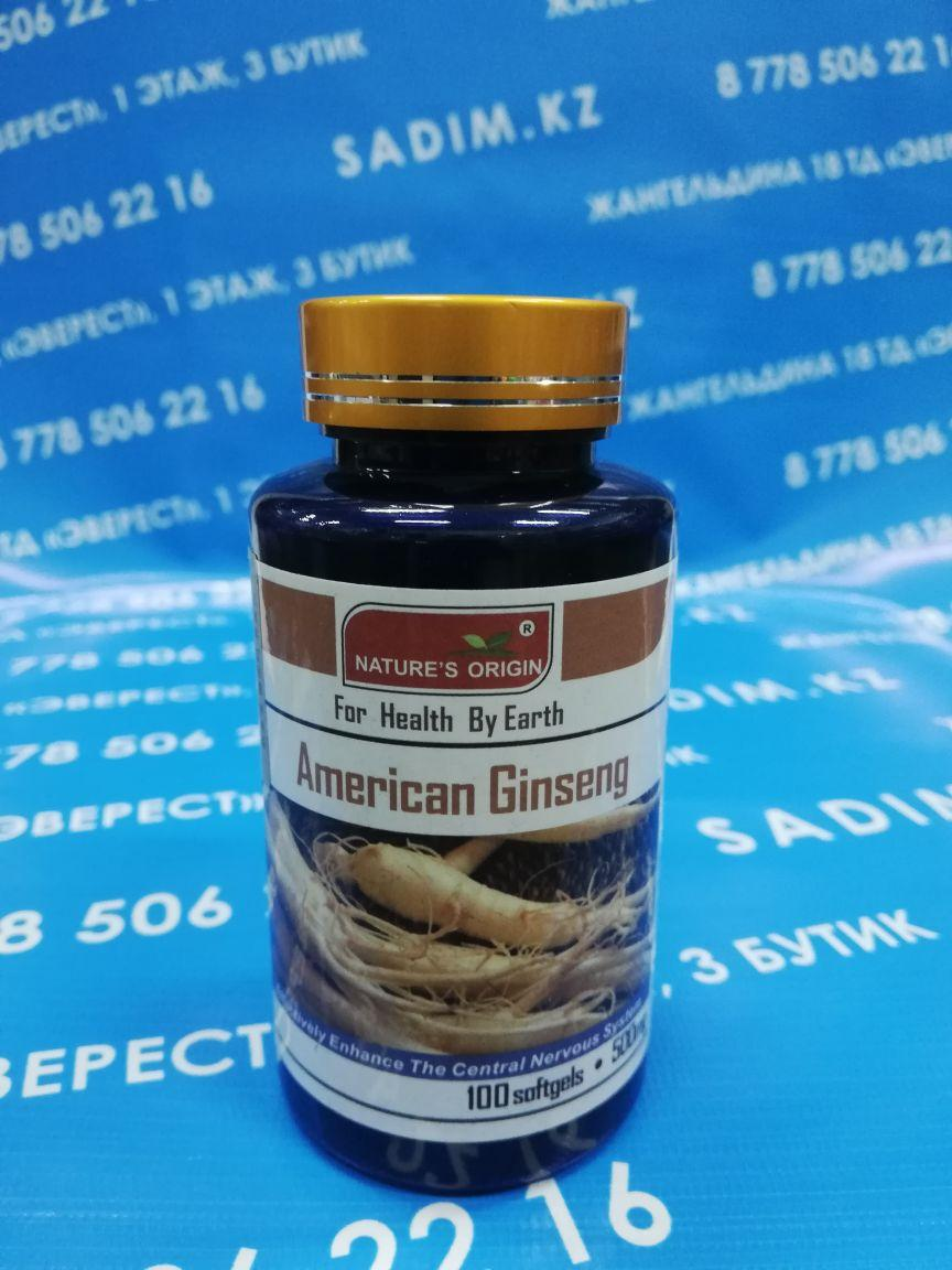 Капсулы - American Ginseng Tablets ( Американский женьшень )