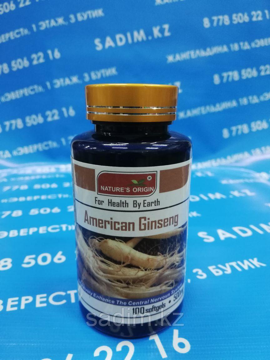 Капсулы Женьшень - American Ginseng Tablets ( 100 шт )