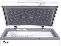 Морозильный ларь МЛК- 350 корпус серый верх серый