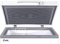 Морозильный ларь МЛК-400 корпус серый верх серый