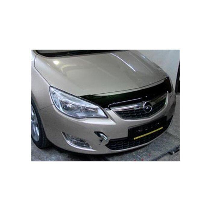 Дефлектор капота Opel Astra J hb small (2010-2015) короткий