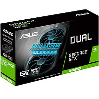 Видеокарта PCI-E 6Gb ASUS GTX 1660 Super Dual Mini, GeForce GTX1660Super