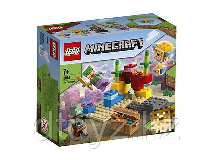 Lego Minecraft Коралловый риф 21164
