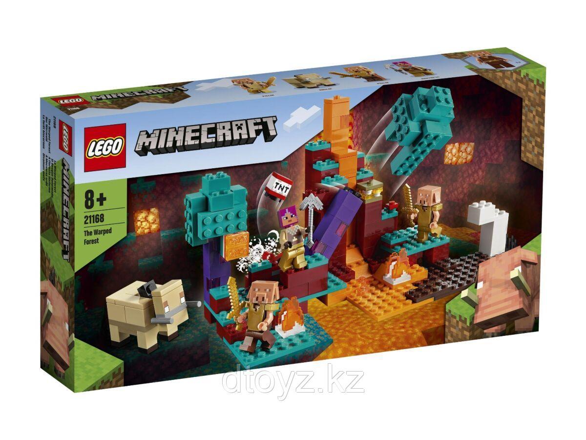 Lego Minecraft Искажённый лес 21168