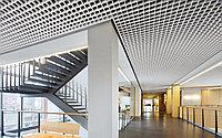 Потолок Грильято, 100х100х30, серебристый