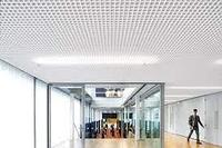 Потолок Грильято, 100х100х30, белый