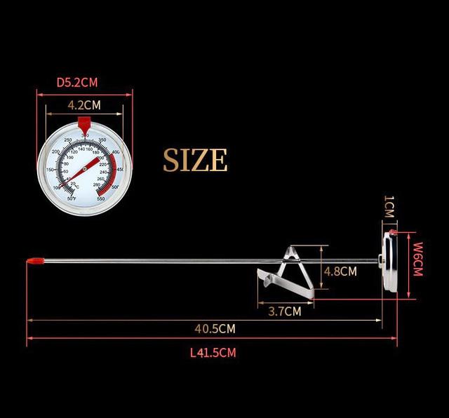 термометр с длинным зондом 40 см
