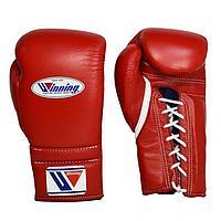 Бокс перчатки Winning (красные) 14-16 OZ