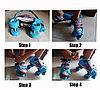 Съёмные детские роликовые коньки (размер 28-35), фото 2