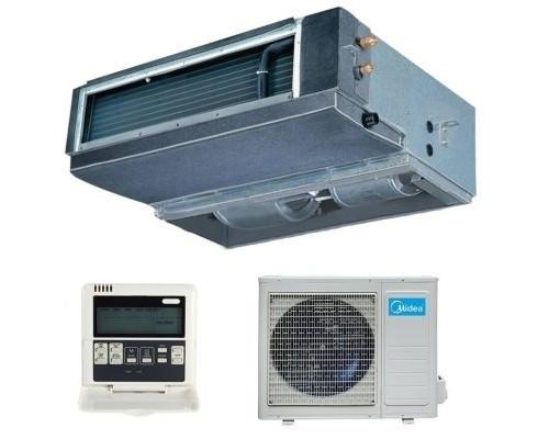Канальный кондиционер Midea MTI-48HWN1 (160Pa)  380 В до 140 кв.м