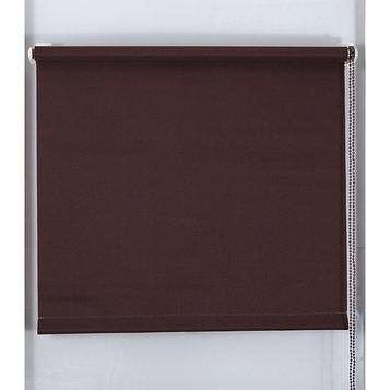 Рулонная штора «Простая MJ», размер 80х160 см, цвет шоколадный