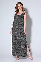 Женское летнее черное платье Liona Style 749 /1 50р.