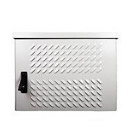 ЦМО Шкаф уличный всепогодный настенный 12U (Ш600 × Г500), передняя дверь вентилируемая серверный шкаф