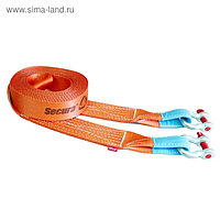 """Динамический строп, рывковый, 14 т, 5 м, серия PRO """"Secura"""" + шаклы 4.75 т, 2 шт"""
