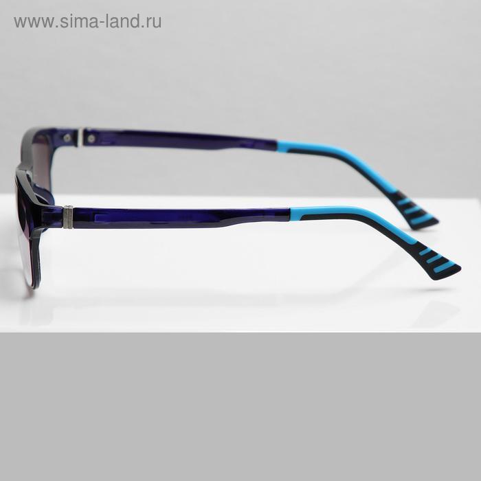 Очки корригирующие В8985, цвет синий, тонированные, -2 - фото 2