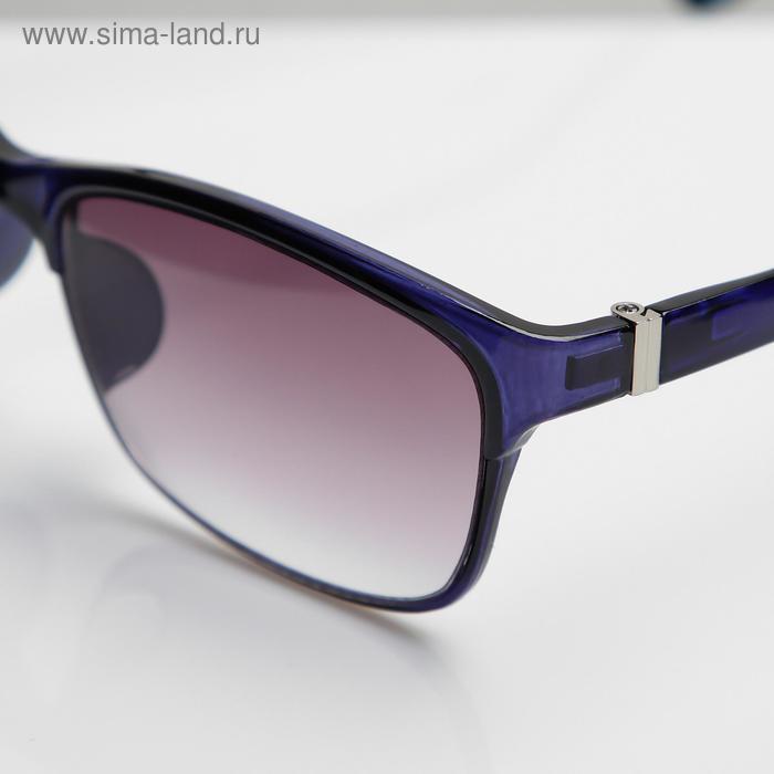 Очки корригирующие В8985, цвет синий, тонированные, -2 - фото 3