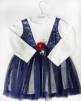 Платье для маленьких принцесс с кружевами, фото 2