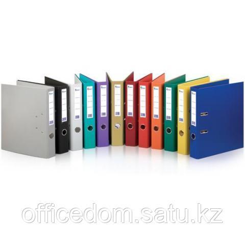 Папка-регистратор А4 с бок. карман, 70 мм, фиолетовый