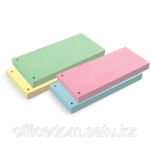 Разделители картонные, 10х24см, 100 шт/упак., зеленый