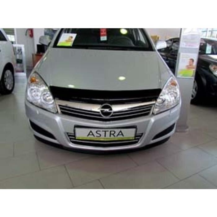 Дефлектор капота Opel Astra H (2004-2012)