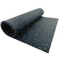 Резиновое рулонное покрытие (Резипол) 6мм 15% белой крошки