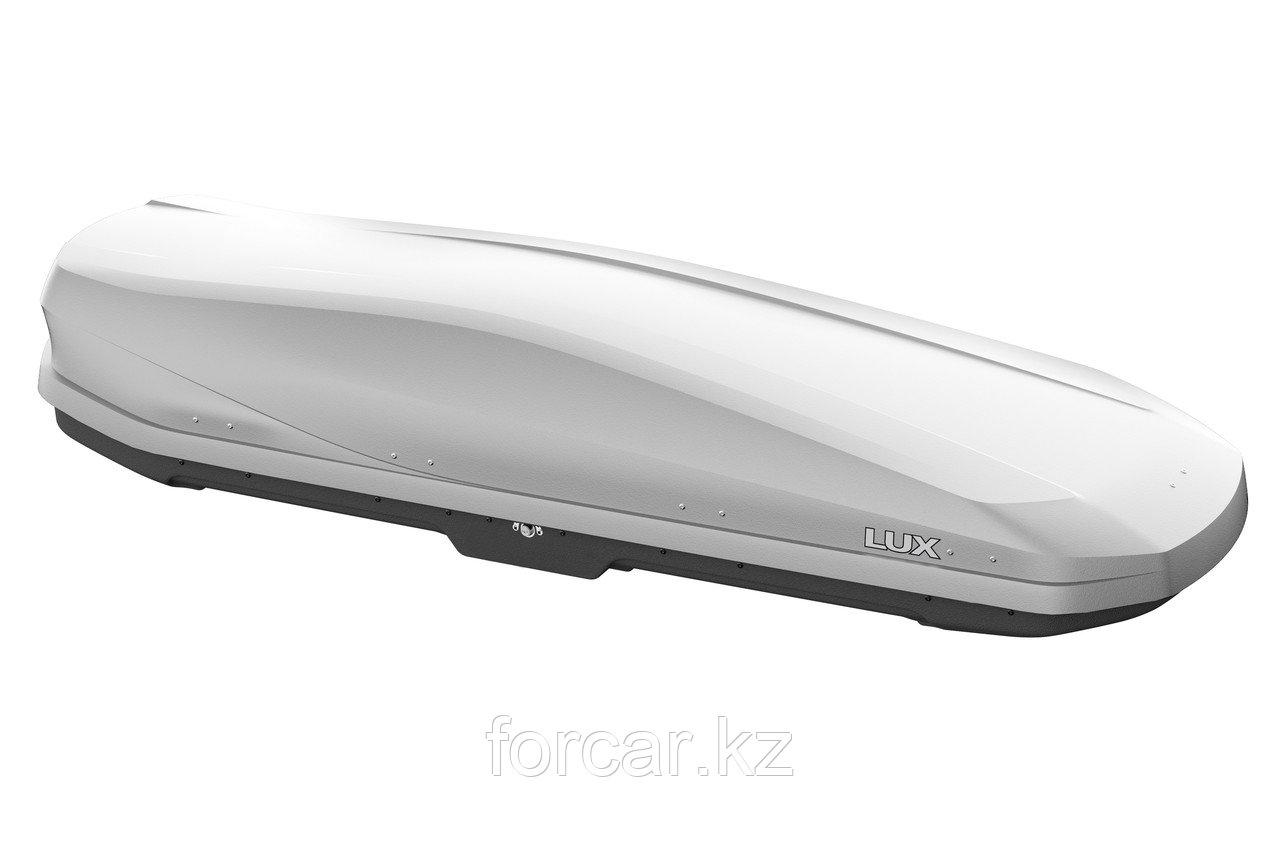 Бокс LUX IRBIS 206 серый матовый 470 л (206х75х36 см.) с двусторонним открыванием - фото 1