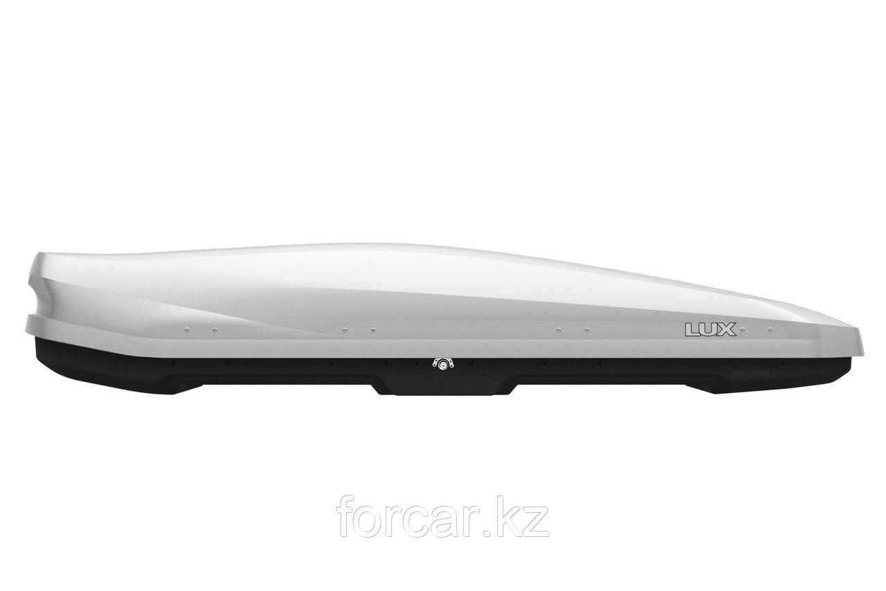 Бокс LUX IRBIS 206 серый матовый 470 л (206х75х36 см.) с двусторонним открыванием - фото 2