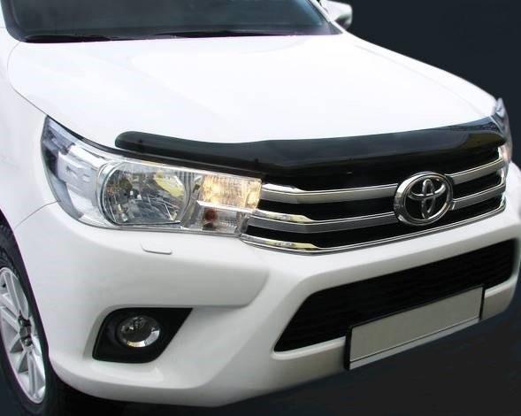 Дефлектор капота Toyota Hilux (2015-2021)