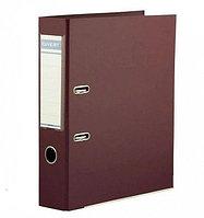 Папка регистратор Kuvert, А4, 50мм, ПВХ-ЕСО бордовый