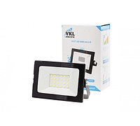 Прожектор LED 20W VLF7-20-6500-mini-B 6500К 1800Лм 220V IP65 черный VKL electric (1/80)