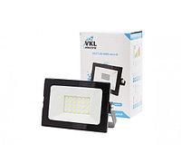 Прожектор светодиодный LED 10W VLF7-10-6500-mini-B 6500К 900Лм 220V IP65 черный VKL electric (1/80)