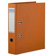 Папка регистратор Kuvert, А4, 50мм, ПВХ-ЕСО оранжевый