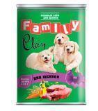 Clan Family 415г консервы для щенков.