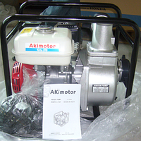 Мотопомпа бензиновая Akimotor GL30 Для чистой и средне-загрязнённой воды