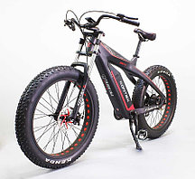 Электровелосипед GreenCamel Kontax (R26FAT Kenda 750W Bafang 48V LG 13Ah) carbon, torque, Altus 8скор