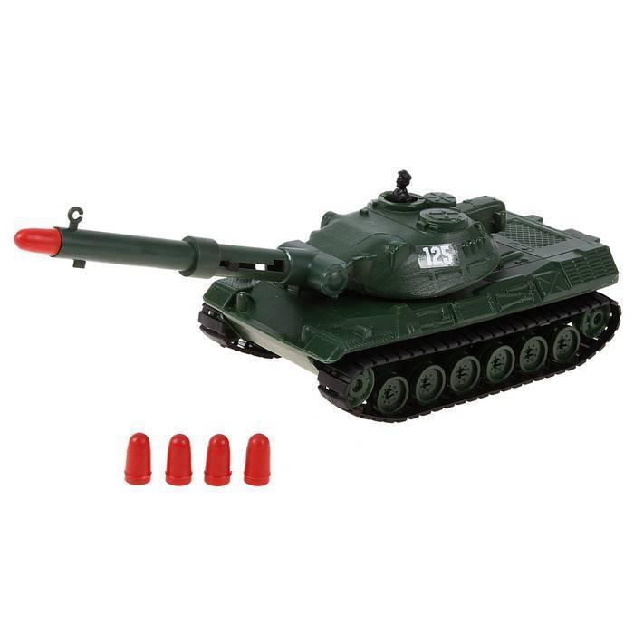 Игрушечный танк с пневмопушкой Форма