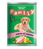 Clan Family 415г паштет из индейки консервы для собак