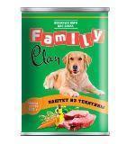 Clan Family 415г паштет из телятины консервы для собак