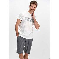 Пижама мужская XL / 50-52, Белый