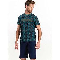 Пижама мужская XL / 50-52, Зеленый