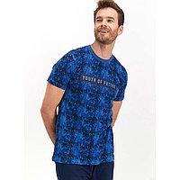 Пижама мужская XL / 50-52, Индиго