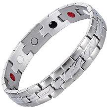 Магнитный браслет Мифрил Silver